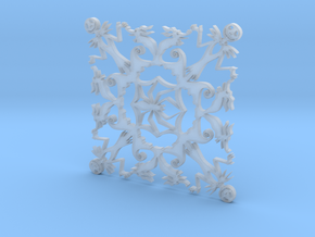 Nightmare Snowflake in Smooth Fine Detail Plastic