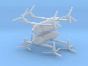 1/600 Bell Boeing Quad Tiltrotor (x2) in Smooth Fine Detail Plastic