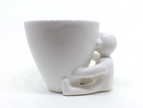 CoffeeLVR in Gloss White Porcelain