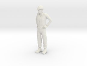 Foreman 1/29 scale in White Natural Versatile Plastic