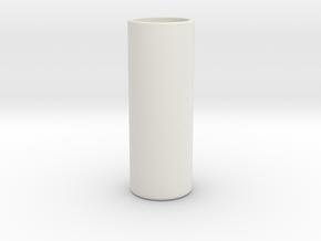 Ouzo / Raki Glass in White Natural Versatile Plastic