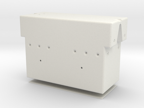 Rotational Control Housing 1:1 in White Natural Versatile Plastic