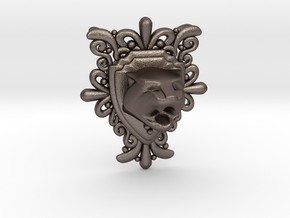 Tiger Top in Polished Bronzed Silver Steel