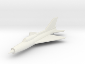 JA12 MiG21PFM (1/285) in White Natural Versatile Plastic