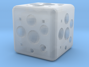 Dice32 in Smooth Fine Detail Plastic