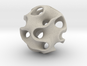 GYRON Sphere - 10cm in Natural Sandstone