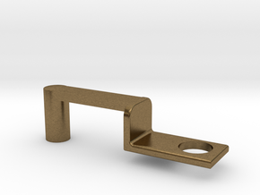 Train Hitch Rounded 3 in Natural Bronze
