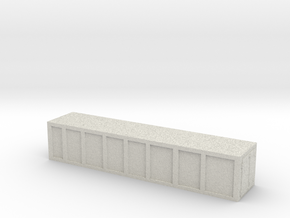 Container 1/220 Z scale in Full Color Sandstone