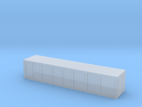 Container 1/220 Z scale in Smooth Fine Detail Plastic