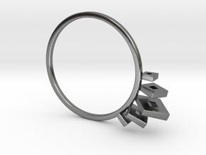 V² in Polished Silver: 7.25 / 54.625