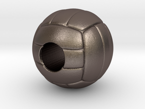 VolleyBall 4U in Polished Bronzed Silver Steel