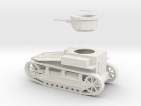 PV19C T1E2 Light Tank (1/48) in White Strong & Flexible