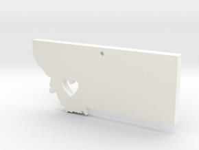 I love Montana Pendant in White Processed Versatile Plastic