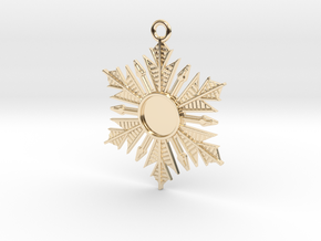 Anna's Wishing Star Pendant (Once Upon a Time) in 14K Yellow Gold