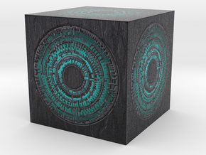 3d Pandorica in Full Color Sandstone