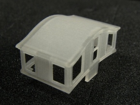 A27 N 'Bombay' roof caboose cupola for MT x4 in Smooth Fine Detail Plastic