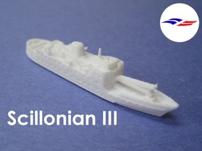 RMV Scillonian III (1:1200) in White Strong & Flexible