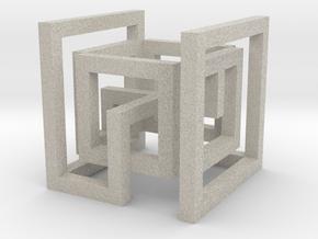 cube_06 in Sandstone