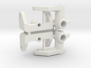 NIX91-Steering Blocks SLS in White Natural Versatile Plastic