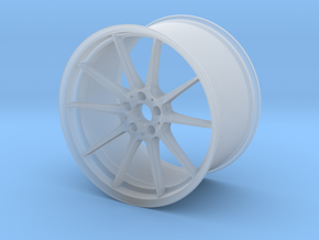 Scaled Performance Wheel in Smooth Fine Detail Plastic