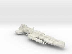 Aurora Ship (hollowed) in White Natural Versatile Plastic
