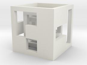 cube_02 in White Natural Versatile Plastic