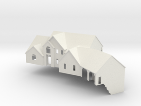 New England House - Nscale in White Natural Versatile Plastic