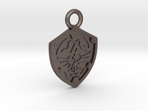 Zelda Hylian Shield Pendant in Stainless Steel