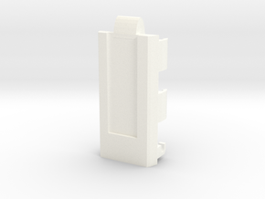 DNA40 19mm ID Tube Cradle—V1 beta in White Processed Versatile Plastic
