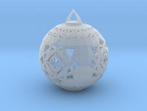 Scifi Ornament 1 in Smooth Fine Detail Plastic