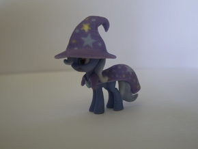 My Little Pony - Trixie (≈68mm tall) in Full Color Sandstone