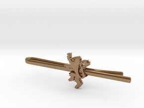 Game of Thrones: House Lannister Tie Clip in Natural Brass