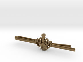 Game of Thrones: House Greyjoy Tie Clip in Natural Bronze