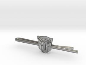 Transformers: Autobots Tie Clip in Natural Silver