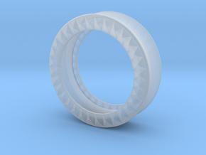 VORTEX9-34mm in Smooth Fine Detail Plastic