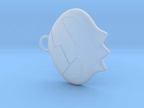 Yoko Skull Clip Dangle Earring Remix (1in) in Smooth Fine Detail Plastic