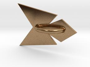 Phoenix Belt Sash in Natural Brass
