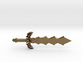 Demon King Sword in Natural Bronze