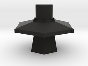 TARDIS Console 30mm in Black Strong & Flexible