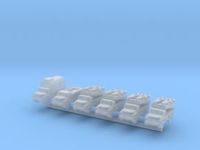 1/285 SA-3 Goa (x6) in Smooth Fine Detail Plastic