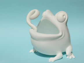Toad Plastic in White Natural Versatile Plastic