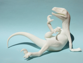 Philosoraptor in White Strong & Flexible