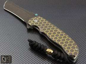 Grimsmo Norseman Bead in Polished Brass