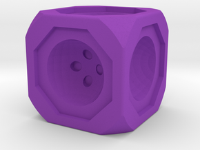Dice74 in Purple Processed Versatile Plastic