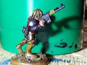 28mm AK laser rifles (40 pcs) in Frosted Ultra Detail