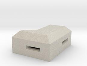 MG Pillbox 1 in Natural Sandstone