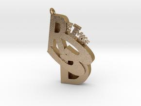 ReImage 3D bling! in Polished Gold Steel