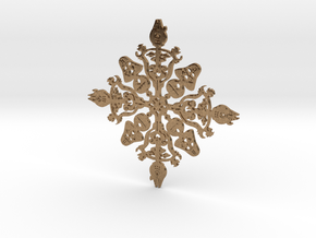Star Wars Snowflake #1 in Natural Brass