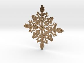 Star Wars Snowflake #1 in Natural Brass