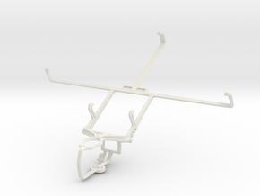 Controller mount for PS3 & Spice Mi-720 in White Natural Versatile Plastic